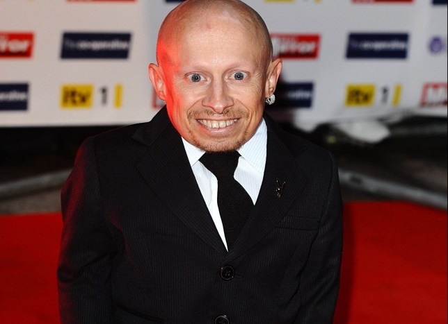 "File photo dated 05/10/09 of Verne Troyer, who is ""getting the best care possible"" after being hospitalised for possible alcohol poisoning. PRESS ASSOCIATION Photo. Issue date: Tuesday April 3, 2018. US news site TMZ first reported that Troyer, who is best known for playing Mini-Me in the spy comedy films, was taken to hospital on Monday night after a friend became concerned that he was suicidal and intoxicated. See PA story SHOWBIZ Troyer. Photo credit should read: Ian West/PA Wire"