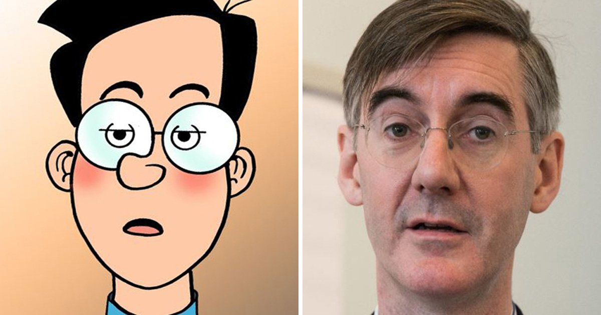 Beano orders Jacob Rees-Mogg to stop looking like Walter the Softy