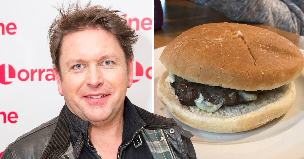 James Martin dismisses mass outrage over below-par burger as 'just one complaint'