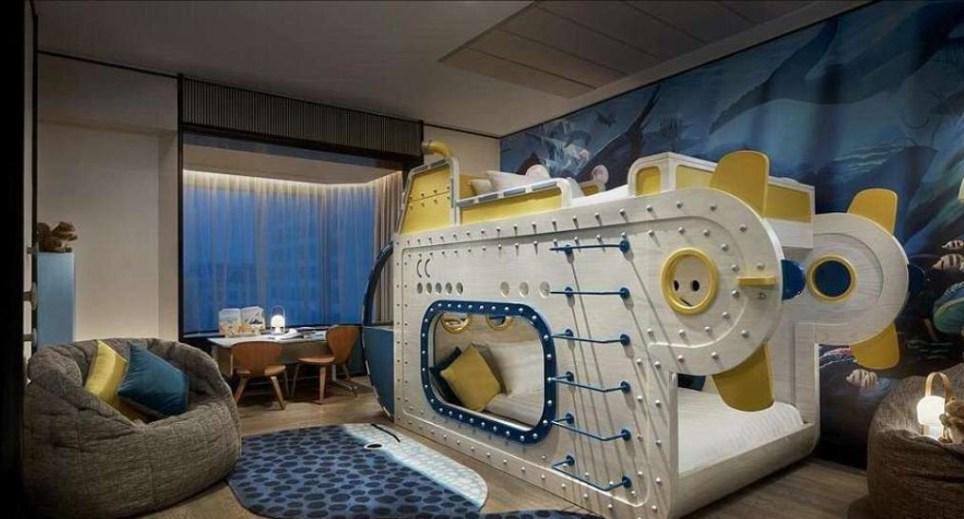 Shangri-La Singapore hotel has epic themed suites for kids