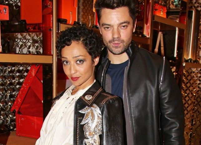 LONDON, ENGLAND - NOVEMBER 21: Ruth Negga (L) and Dominic Cooper attend Louis Vuittons Celebration of GingerNutz in Vogue's December Issue on November 21, 2017 in London, England. (Photo by David M. Benett/Dave Benett/Getty Images for Louis Vuitton)