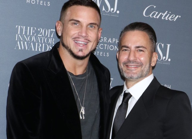 Mandatory Credit: Photo by Gregory Pace/REX/Shutterstock (9186260r) Charly deFrancesco and Marc Jacobs WSJ. Magazine 2017 Innovator Awards, Arrivals, New York, USA - 01 Nov 2017