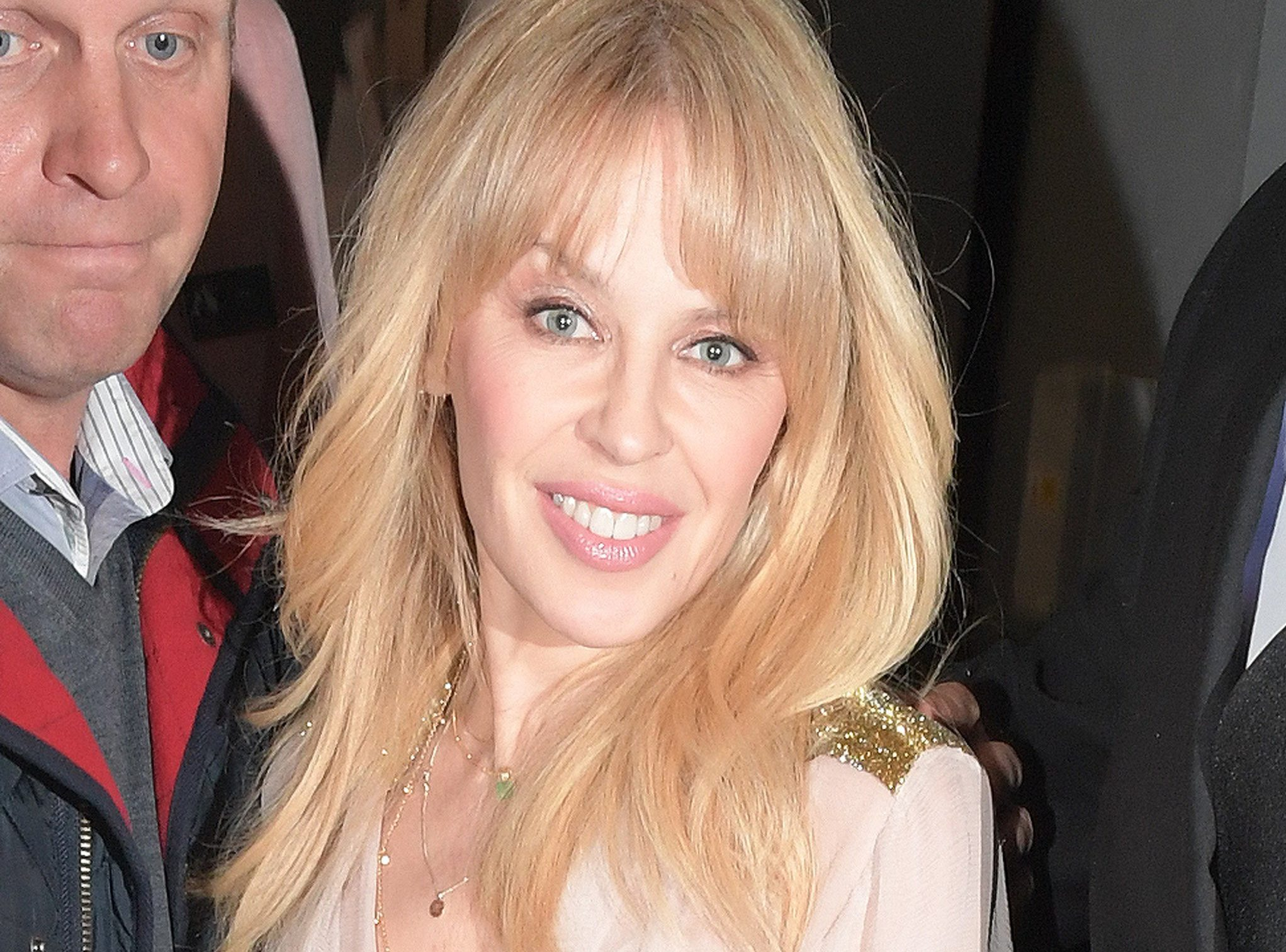 Kylie Minogue all smiles for Golden album release after confessing she may never find love following Joshua Sasse split