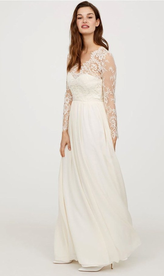 Dress For A Wedding.H M Is Selling A Kate Middleton Wedding Dress Rip Off And It S Very