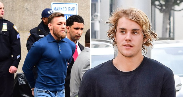 Picture: Getty Justin Bieber on Conor McGregor - we all make mistakes