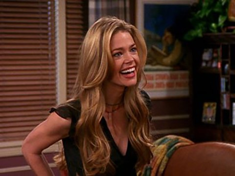 Who did Denise Richards play in Friends and how many episodes was she in?