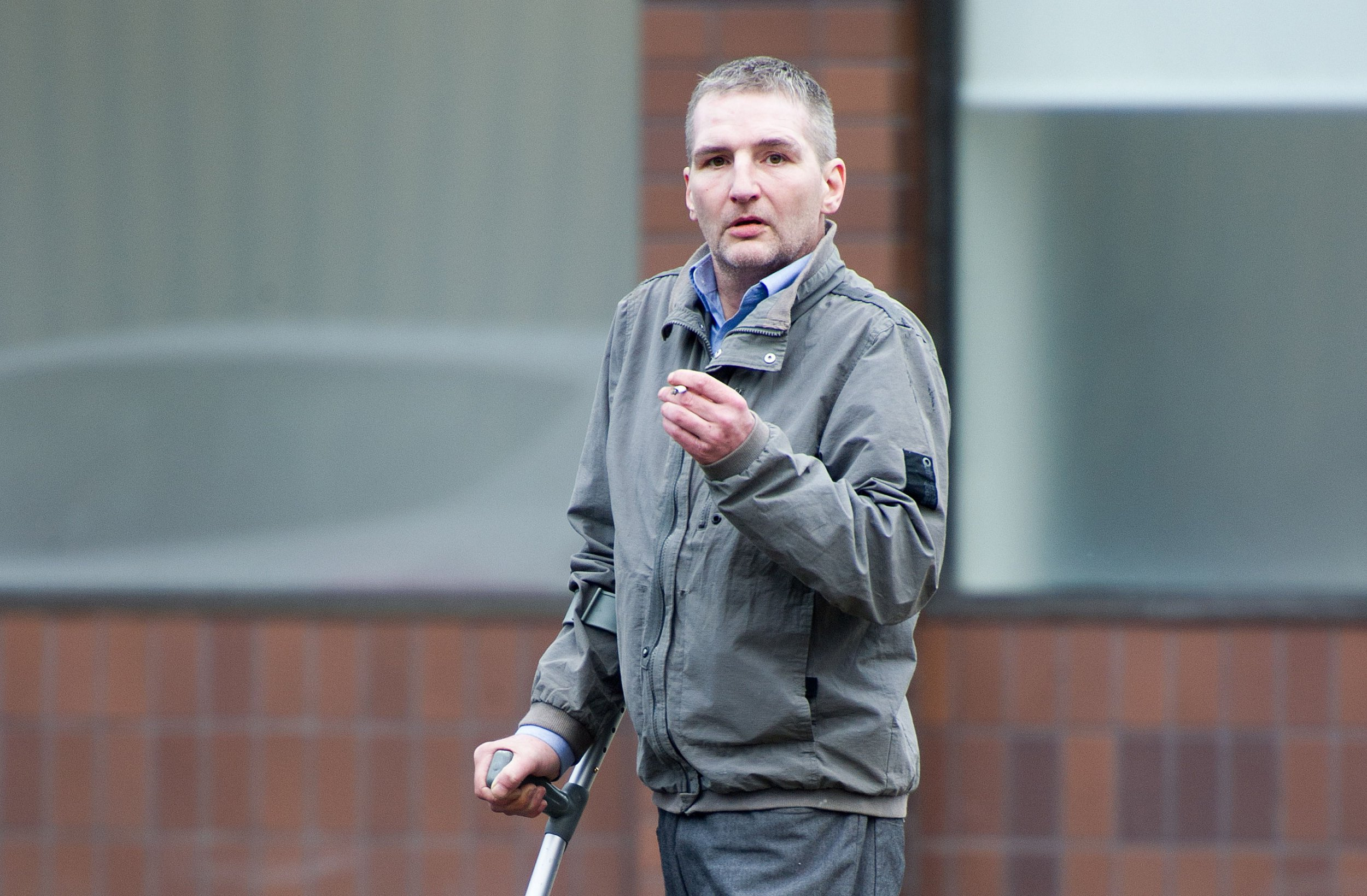 Pic shows actor James Elder at the High Court Glasgow. He denies raping a 19 year old girl who subsequently took her own life. He denies all charges. Trial continues. See Glasgow Courts. Pic by Iain McLellan/Spindrift. !!!!! No ID issues !!!!!!