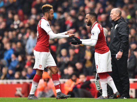 Arsene Wenger reveals why Pierre-Emerick Aubameyang was subbed off v Southampton