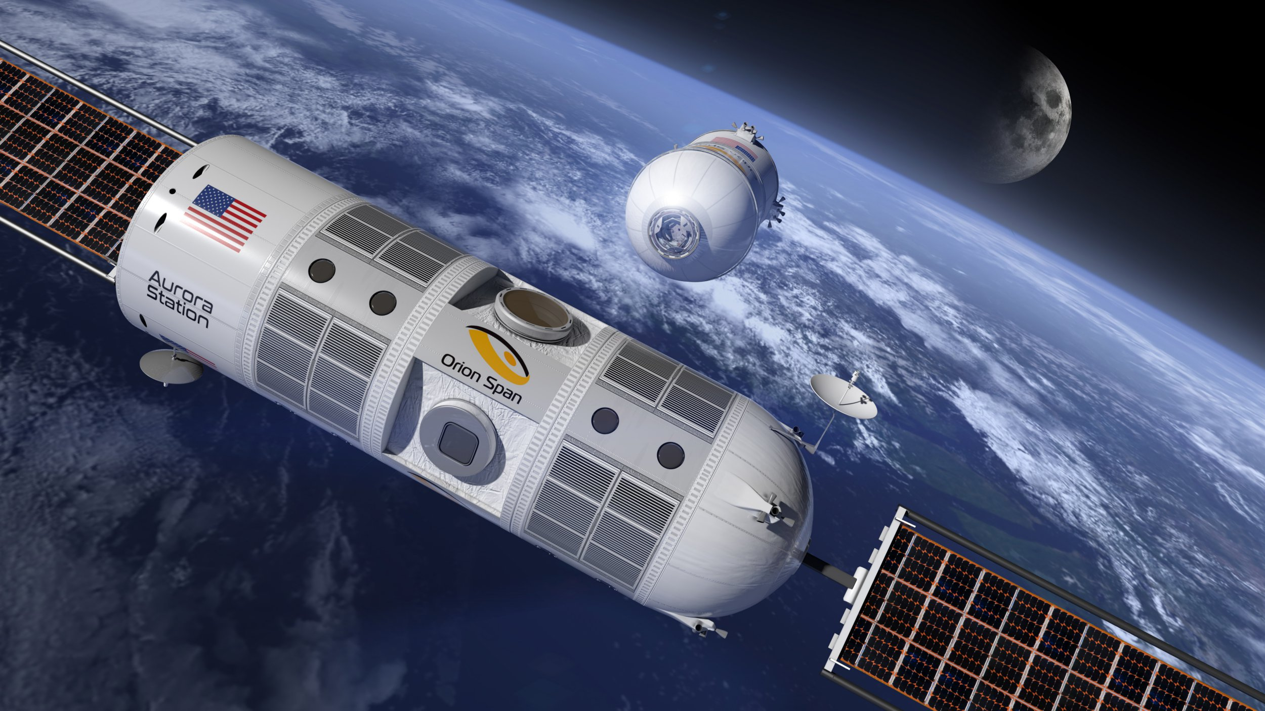 The first-ever luxury space hotel has been announced. Introduced during the Space 2.0 Summit in San Jose, California, the Aurora Station is named after the magical light phenomenon that illuminates the Earth???s polar skies. It is being developed by Texas-based Orion Span and the company???s team of space industry veterans, who have over 140 years of human space experience. The first fully modular space station to ever debut, Aurora Station will operate as the first luxury hotel in space. The exclusive hotel will host six people at a time ??? including two crew members. Space travelers will enjoy a completely authentic, once-in-a-lifetime astronaut experience with extraordinary adventure during their 12-day journey, starting at $9.5M per person. Deposits are now being accepted for a future stay on Aurora Station, which is slated to launch in late 2021 and host its first guests in 2022. The fully refundable deposit is $80,000 per person and can be reserved online here. ???We developed Aurora Station to provide a turnkey destination in space. Upon launch, Aurora Station goes into service immediately, bringing travelers into space quicker and at a lower price point than ever seen before, while still providing an unforgettable experience,??? said Frank Bunger, chief executive officer and founder of Orion Span. ???Orion Span has additionally taken what was historically a 24-month training regimen to prepare travelers to visit a space station and streamlined it to three months, at a fraction of the cost. Our goal is to make space accessible to all, by continuing to drive greater value at lower cost.??? During their stay on Aurora Station, travelers will enjoy the exhilaration of zero gravity and fly freely throughout Aurora Station, gaze at the northern and southern aurora through the many windows, soar over their hometowns, take part in research experiments such as growing food while in orbit (which they can take home with them as the ultimate souvenir), revel i