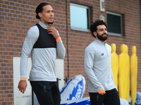 Mohamed Salah trains with Liverpool to boost Man City appearance hopes