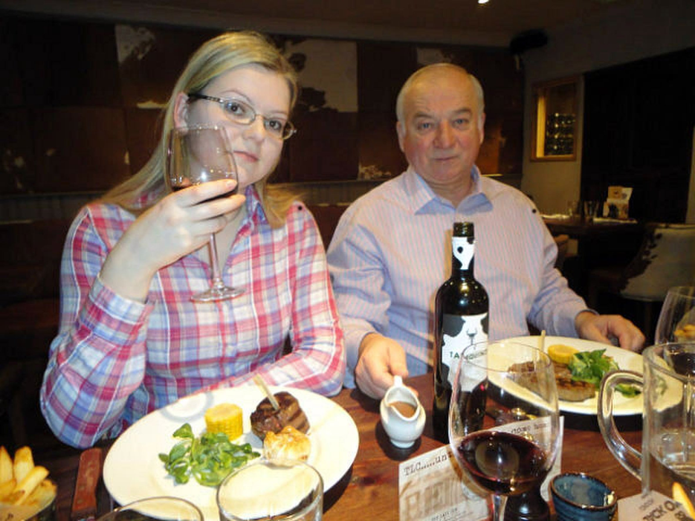 Poisoned spy's daughter Yulia Skripal discharged from hospital and taken to a secure location