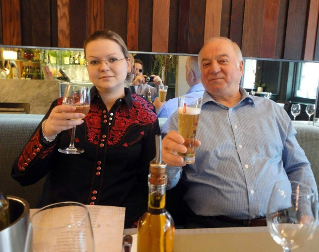 Rex Features Ltd. do not claim any Copyright or License of the attached image Mandatory Credit: Photo by REX/Shutterstock (9452103i) Sergei Skripal and Yulia Skripal Former Russian spy critically ill after suspected poisoning, Salisbury, UK - 08 Mar 2018 Photos are from an open social media site