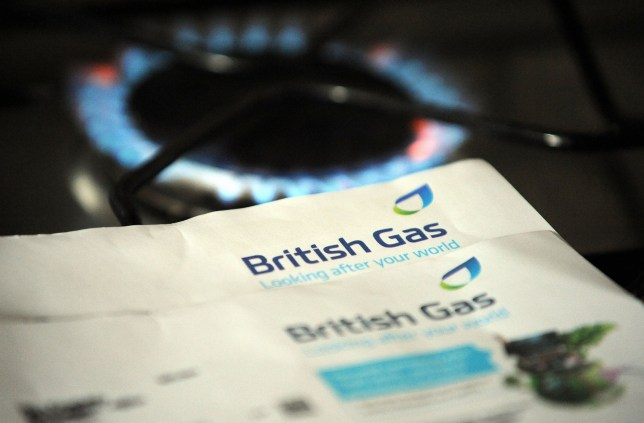 Mandatory Credit: Photo by London News Pictures/REX/Shutterstock (3330422d) British Gas bill price rise, bills in a frying pan Various, Britain - Oct 2013