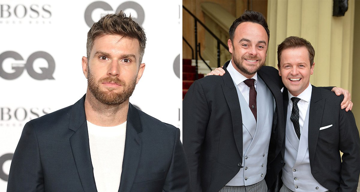 Joel Dommett applauds Dec Donnelly for hosting without Ant McPartlin as he reveals what it's like to work with duo