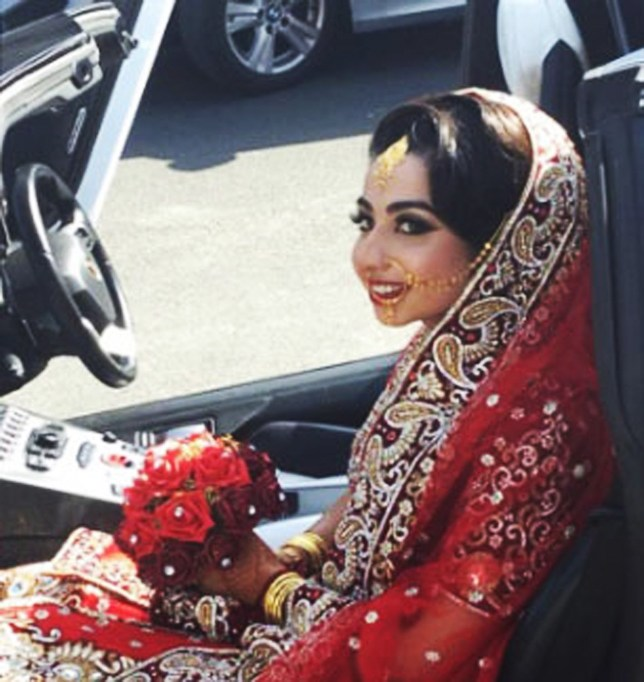 INS News Agency Ltd. 11/04/2018 Young mother was crushed to death under her own car as her baby sat in the back seat, inquest in Beaconsfield, Bucks., hears. Sameha Mahmood (Pictured) died on the steep driveway of her parents' home on December 23 last year when her powerful BMW 3 series car rolled over her after she failed to apply the handbrake. The married 25-year-old had gone to pick up her mother for a birthday celebration. Neighbours rushed to her aid and used car jacks and bricks to hold up the vehicle, but she was pronounced dead at the scene, coroner told. See copy INScrush