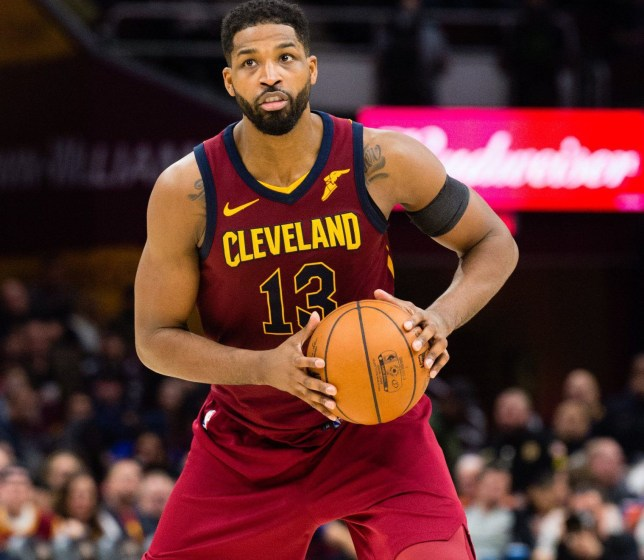 CLEVELAND, OH - APRIL 11: Tristan Thompson #13 of the Cleveland Cavaliers looks for a pass during the second half at Quicken Loans Arena on April 11, 2018 in Cleveland, Ohio. The Knicks defeated the Cavaliers 110-98. NOTE TO USER: User expressly acknowledges and agrees that, by downloading and or using this photograph, User is consenting to the terms and conditions of the Getty Images License Agreement. (Photo by Jason Miller/Getty Images)