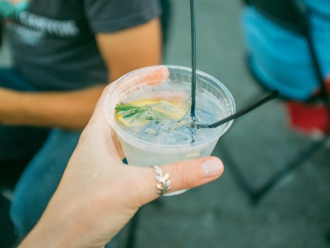 A free gin and tonic vending machine exists and it sounds amazing
