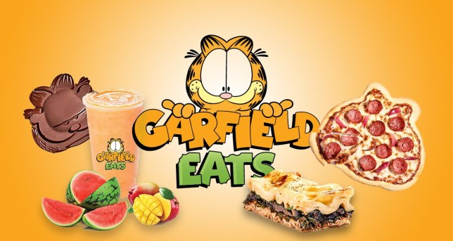 Picture: Garfield Eats There's a Garfield themed food delivery app