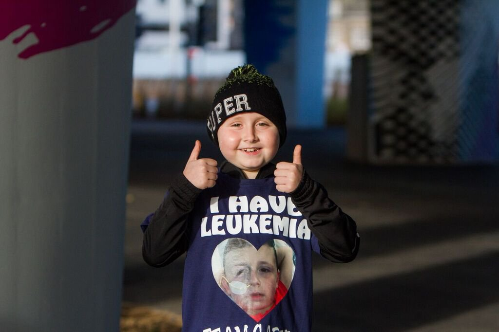 FROM JOHN JEFFAY AT CASCADE NEWS LTD 0161 660 8087 / 07771 957773 john@cascadenews.co.uk / www.cascadenews.co.uk Syndicated for Dundee Courier New pic Garvie Winter THE mum of a seven-year-old leukaemia patient has launched a desperate bone marrow appeal ? after doctors said his tissue type was so rare they had no matches. Garvie Winter was diagnosed with leukaemia last October (2017) at Ninewells Hospital, Dundee, after he complained of feeling tired and ?off colour?. But three rounds of gruelling chemotherapy have failed to put the disease into remission.