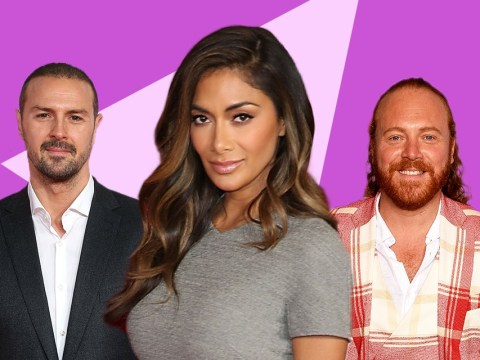 Keith Lemon and Paddy McGuiness reveal they paid Nicole Scherzinger to be vocal coach – but only because Ed Sheeran wasn't available