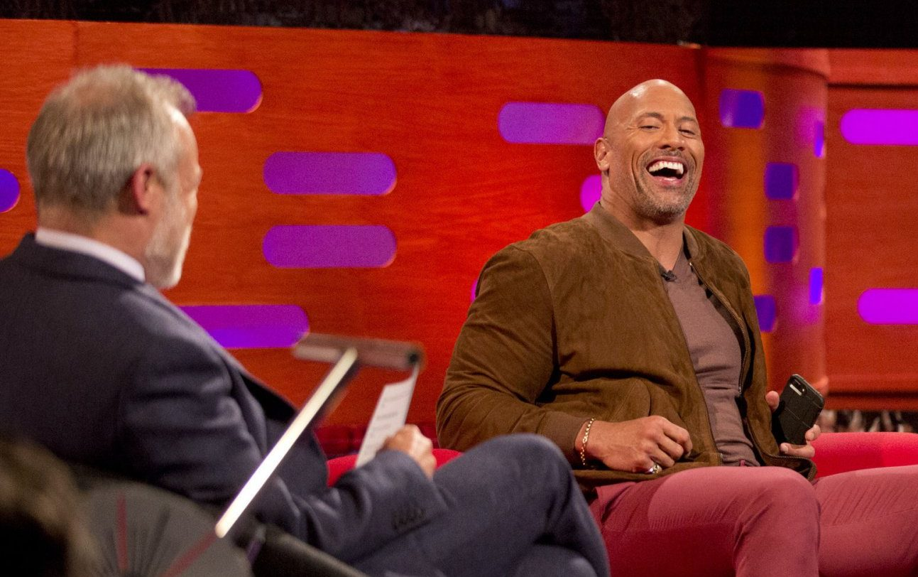 Who is on The Graham Norton Show tonight – guests include Dwayne Johnson and Martin Freeman