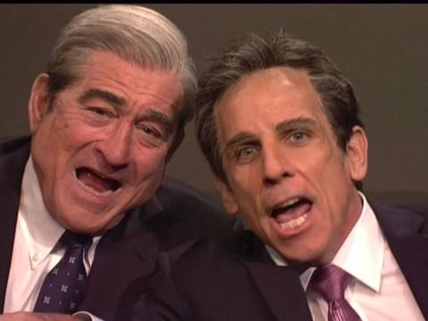 Robert De Niro and Ben Stiller mock White House troubles with Meet The Parents' lie detector scene