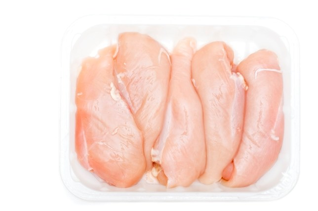 Royalty free stock photo of 5 chicken breastsShot in Raw and Post-processed in ProPhoto RGB. No sharpening applied.