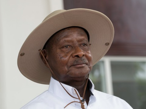 Uganda's president says his people don't have oral sex because 'the mouth is for eating'