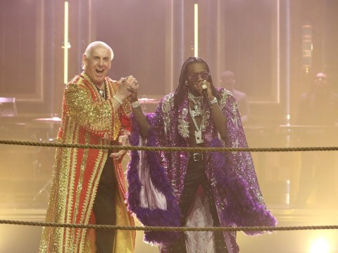 The actual Ric Flair joined Migos' Offset for a knock-out performance