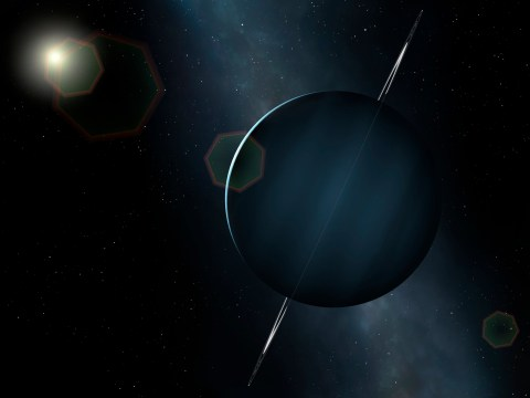 Uranus has a twin that's huge, distant and very hard to spot