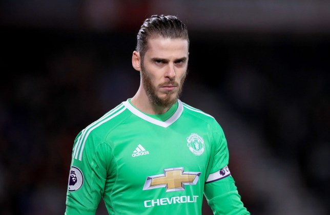 85f4146d937 Jose Mourinho sends message to Real Madrid over David De Gea transfer  speculation
