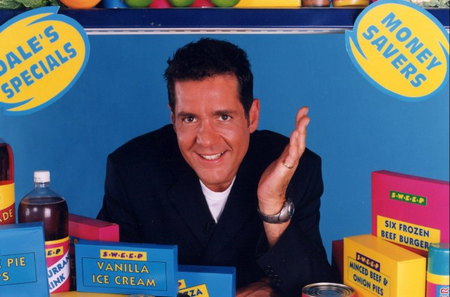 No Merchandising. Editorial Use Only Mandatory Credit: Photo by ITV/REX/Shutterstock (520320py) DALE WINTON IN 'DALE'S SUPERMARKET SWEEP' - 2001 VARIOUS ITV TV PROGRAMMES`