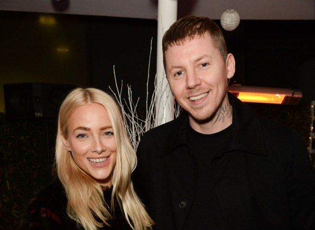 Mandatory Credit: Photo by Hannah Young/REX/Shutterstock (9215483m) Fae Williams and Professor Green Launch of the Winter Forest with Ciroc, Madison Terrace, London, UK - 09 Nov 2017