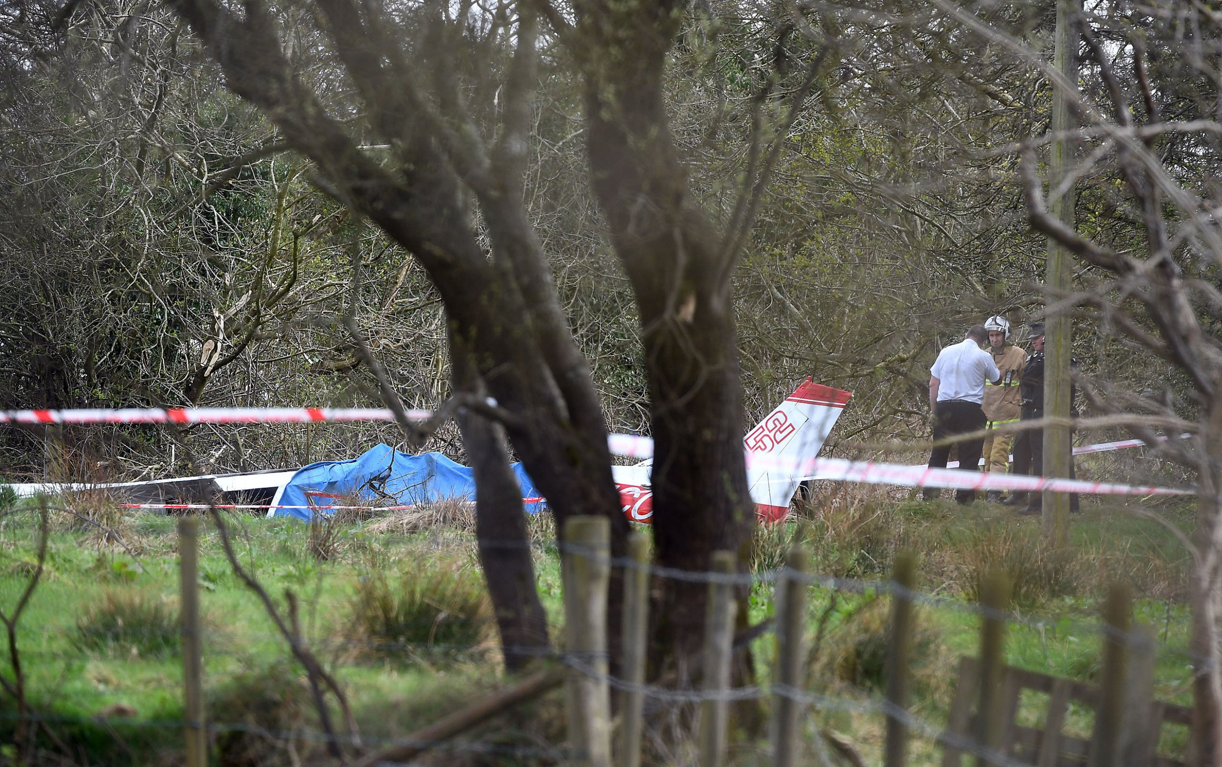 Alan Lewis - PhotopressBelfast.co.uk 19/4/2018 Mandatory Credit - Picture by Justin Kernoghan Emergency services are at the scene of a light aircraft crash in County Antrim.The small plane, thought to be a Cessna, reportedly came down between Nutts Corner and Loanends at about 12:20.An eyewitness told the BBC the plane circled over houses and tried to land, before crashing in a field. She said the aircraft then exploded.No patients were taken from the scene, said the NI Ambulance Service (NIAS).It put its major incident protocols into action, but the incident was stood down at 12:49.