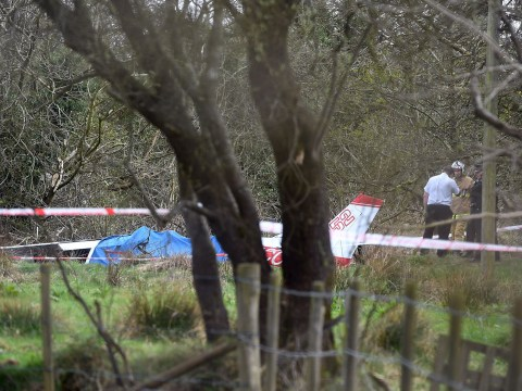 Two dead after light aircraft crashes three miles away from airport