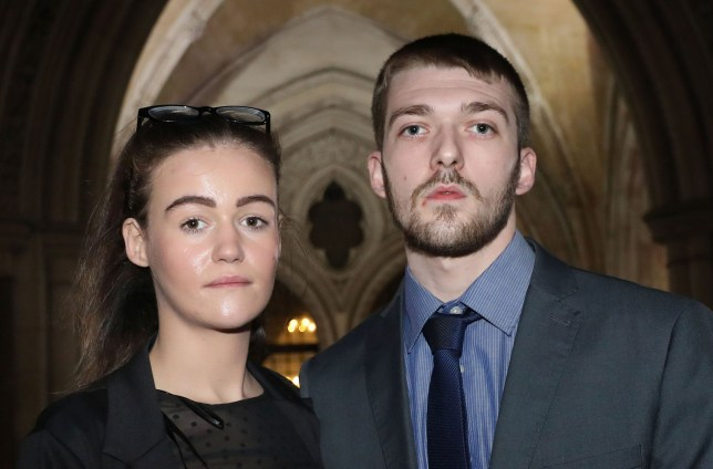 File photo dated 19/12/17 of Tom Evans and Kate James, who have been at the centre of a life-support treatment battle for their son Alfie Evans, have lost the latest round of their legal fight after failing to persuade Supreme Court justices to consider their case for a second time. PRESS ASSOCIATION Photo. Issue date: Friday April 20, 2018. Tom Evans and Kate James, who are both in their early twenties, had made another application to the Supreme Court after losing a second fight over Alfie Evans at the Court of Appeal. See PA story COURTS Alfie. Photo credit should read: Philip Toscano/PA Wire
