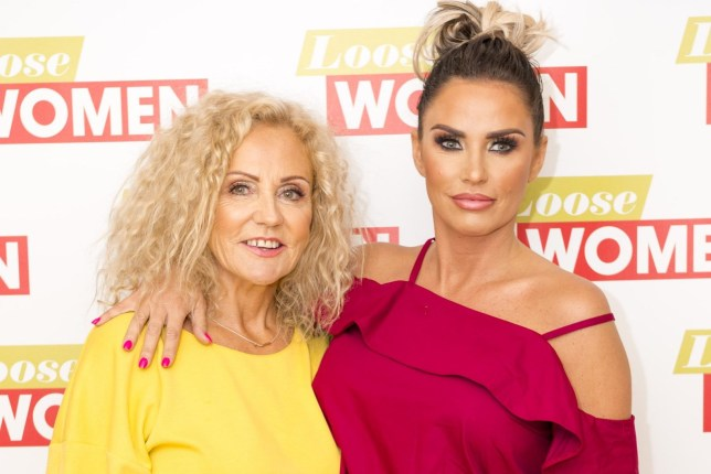 EDITORIAL USE ONLY. NO MERCHANDISING Mandatory Credit: Photo by Ken McKay/ITV/REX/Shutterstock (9040021at) Amy Price and Katie Price 'Loose Women' TV show, London, UK - 05 Sep 2017