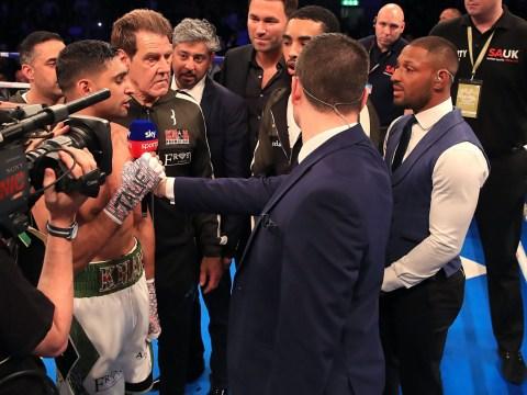 Eddie Hearn targets end-of-year clash between Amir Khan and Kell Brook