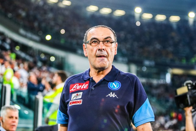 Napoli coach Maurizio Sarri during the Italian championship Serie A football match between Juventus FC and SSC Napoli on April 22, 2018 at Allianz stadium in Turin, Italy - Photo Morgese - Rossini / ProSportsImages / DPPI