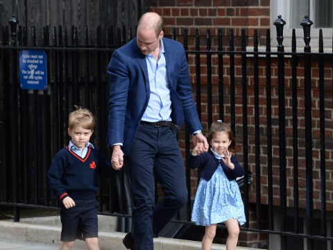 What are Prince George and Princess Charlotte's full names?