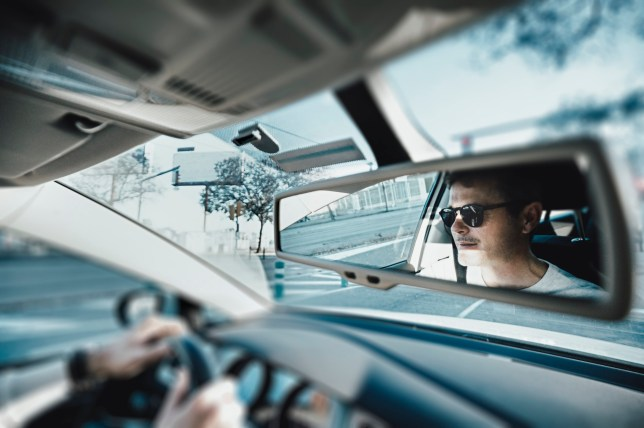 Wearing sun glasses at the wheel Getty Images