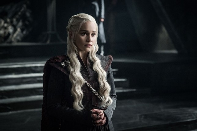 """No Merchandising. Editorial Use Only. No Book Cover Usage Mandatory Credit: Photo by HBO/Kobal/REX/Shutterstock (9036271ea) Emilia Clarke """"Game Of Thrones"""" (Season 7) TV Series - 2017"""