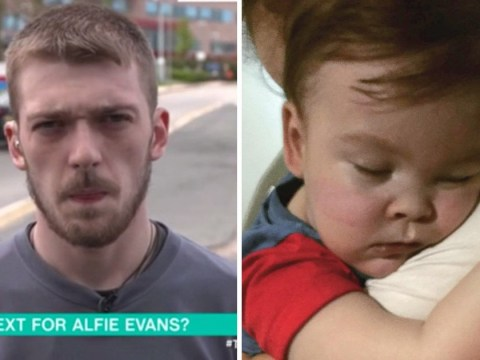 Alfie Evans' dad says son's still fighting and doing well 36 hours later