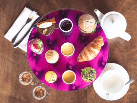You'll soon be served a really fancy afternoon tea on Virgin Atlantic flights