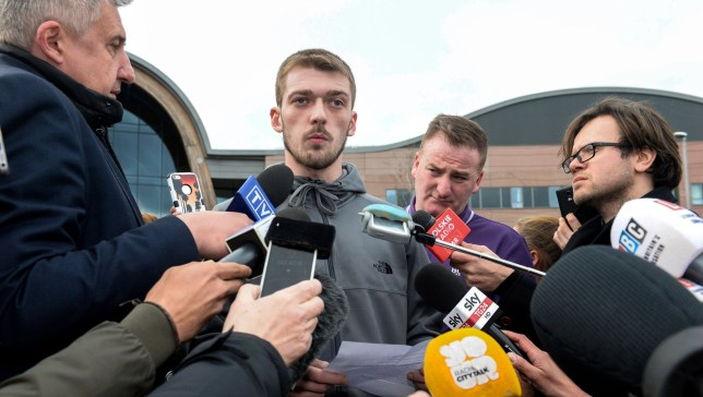 Tom Evans speaks to the media outside Liverpool's Alder Hey Children's Hospital where his son Alfie Evans, the 23-month-old who has been at the centre of a life-support treatment dispute, is a patient. PRESS ASSOCIATION Photo. Picture date: Thursday April 26, 2018. See PA story COURTS Alfie. Photo credit should read: Peter Byrne/PA Wire