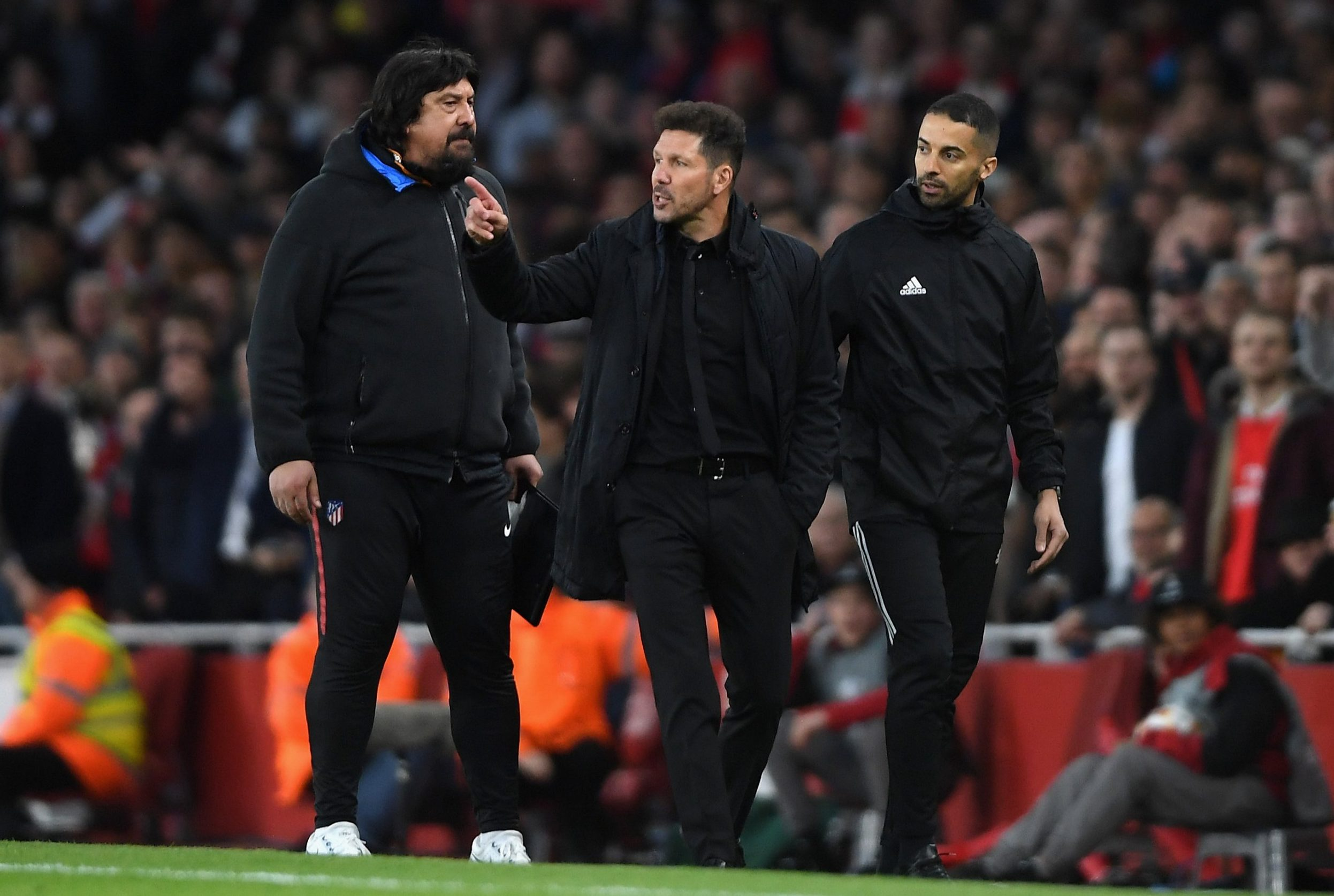 What Diego Simeone told the referee before getting sent off against Arsenal