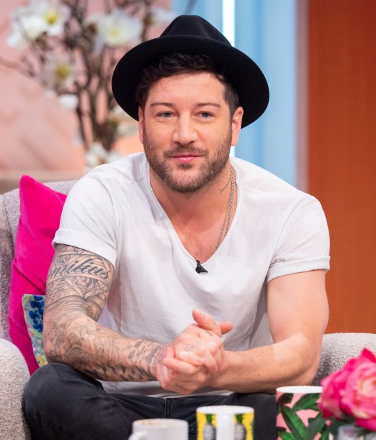 EDITORIAL USE ONLY. NO MERCHANDISING Mandatory Credit: Photo by Ken McKay/ITV/REX/Shutterstock (9644048ax) Matt Cardle 'Lorraine' TV show, London, UK - 27 Apr 2018