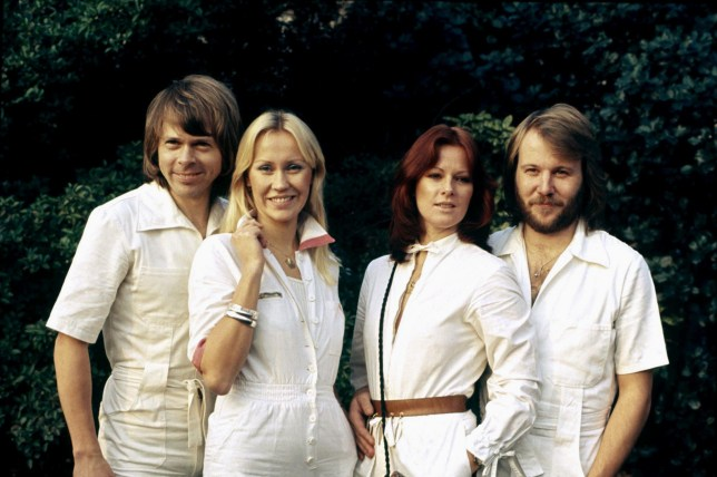 Bj?rn Ulvaeus,Agnetha F?ltskog, Anni-Frid Lyngstad & Benny Andersson Abba 01 May 1977 01 May 1977 SSD13078 Allstar Picture Library **Warning** This Photograph is a publicity still & can only be used for editorial purposes. Allstar Picture Library do not own the copyright of this images as it was supplied by a production/publicity/PR company or department of a film/music company for promotional purposes around the time that the photograph was taken. No commercial use can be granted for the use of this image.