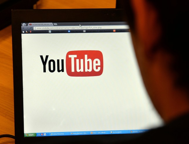 A man uses YouTube which is marking the tenth anniversary of its website going public today, with the three-man start-up now having billions of users at what is the third most visited site in the world.