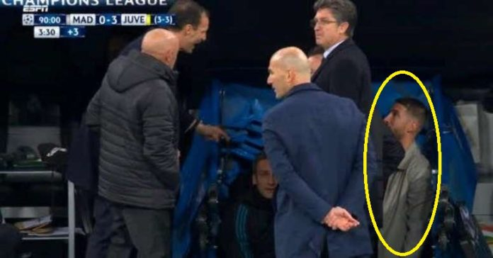 Max Allegri reveals what Real Madrid skipper Sergio Ramos said to trigger heated tunnel bust-up